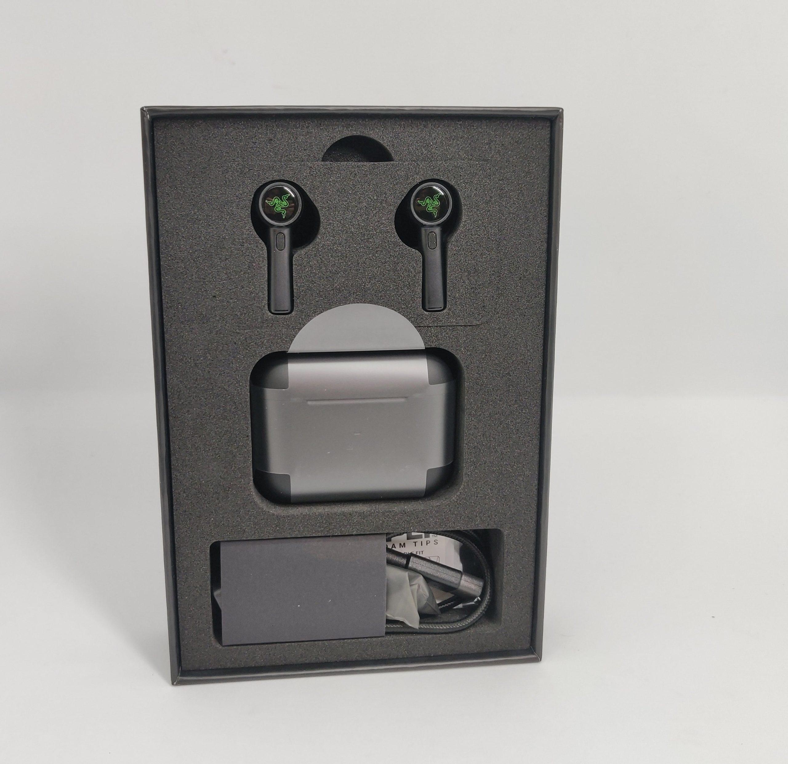 Razer Hammerhead True Wireless Pro boîte intérieur