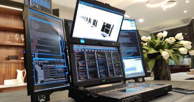 Aurora 7 potable 7 écrans
