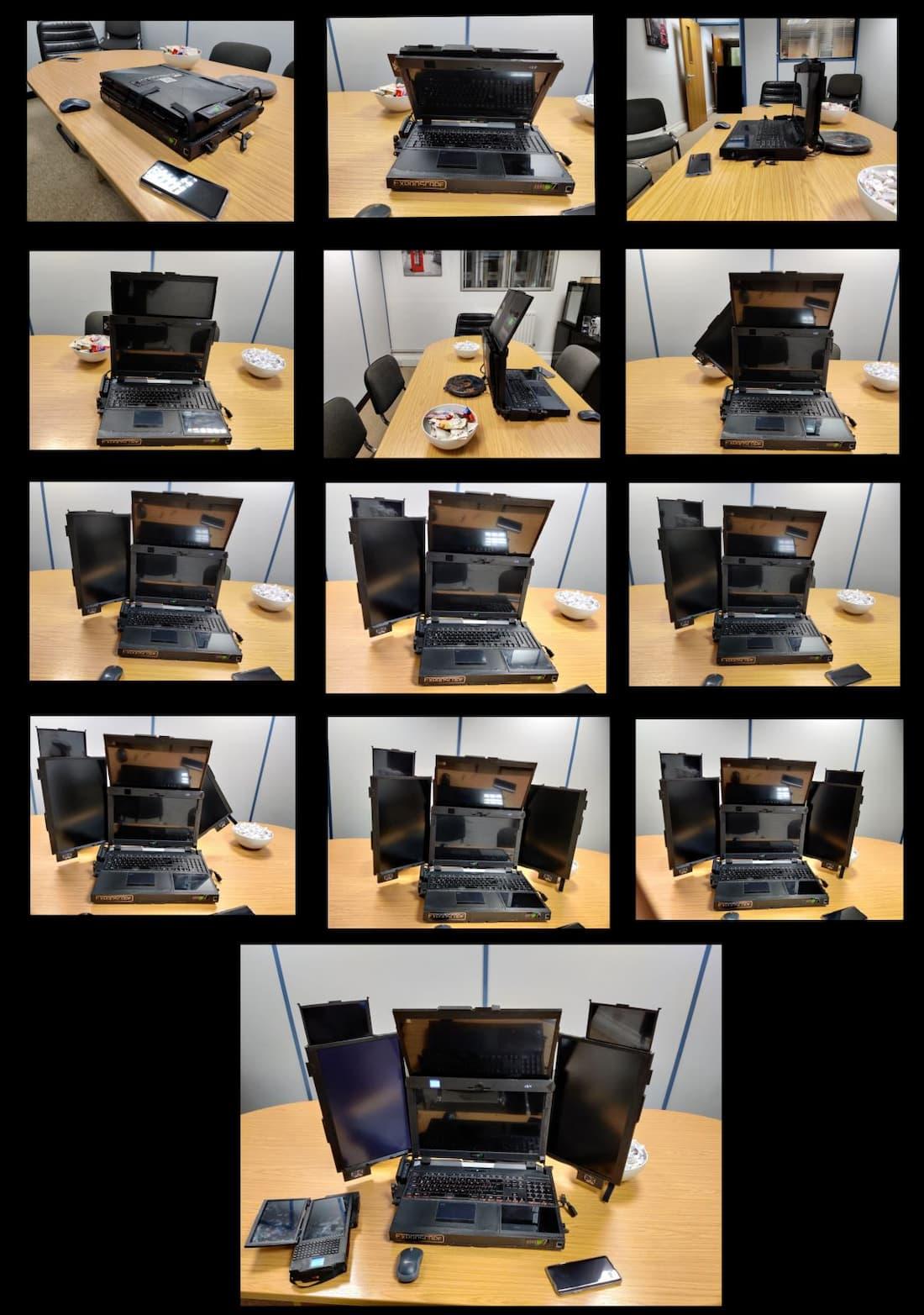 Aurora 7 portable 7 écrans