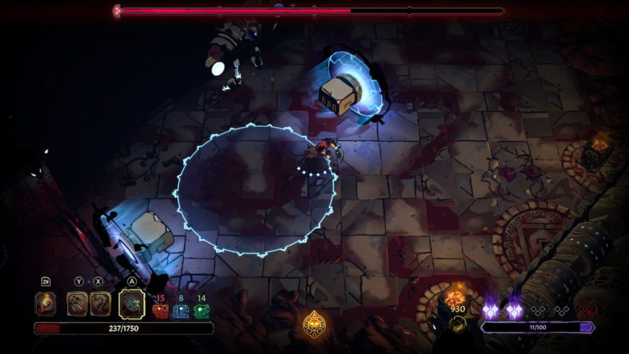 Test Curse of the Dead Gods - Boss