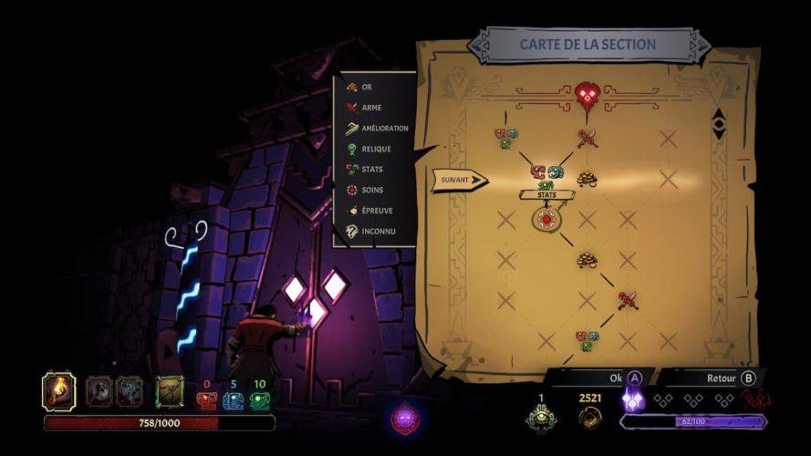 Test Curse of the Dead Gods - Carte