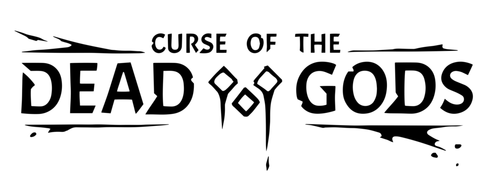 Test Curse of the Dead Gods - Logo