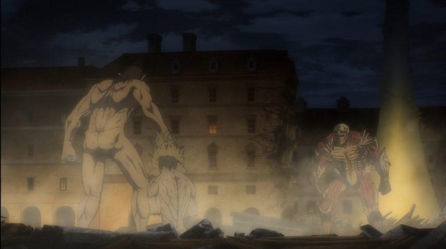 L'Attaque des Titans - Episode 67 - Combat entre Eren et Reiner