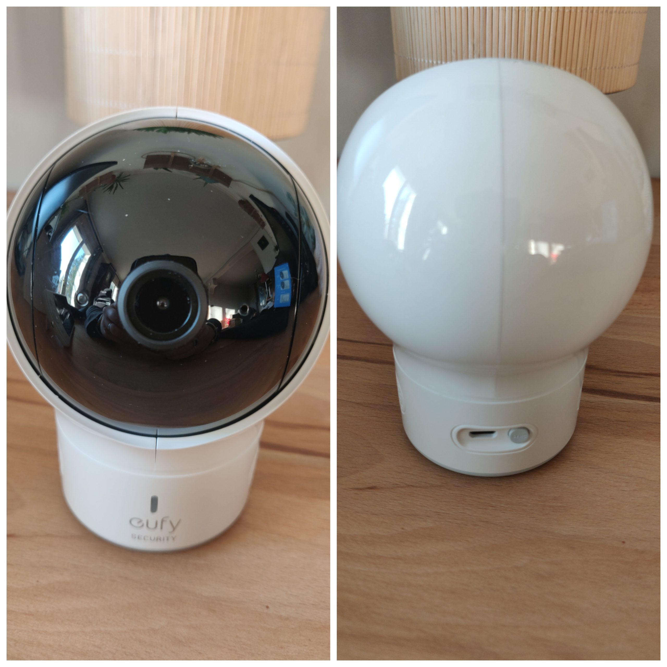 Eufy Baby Monitor Spaceview caméra