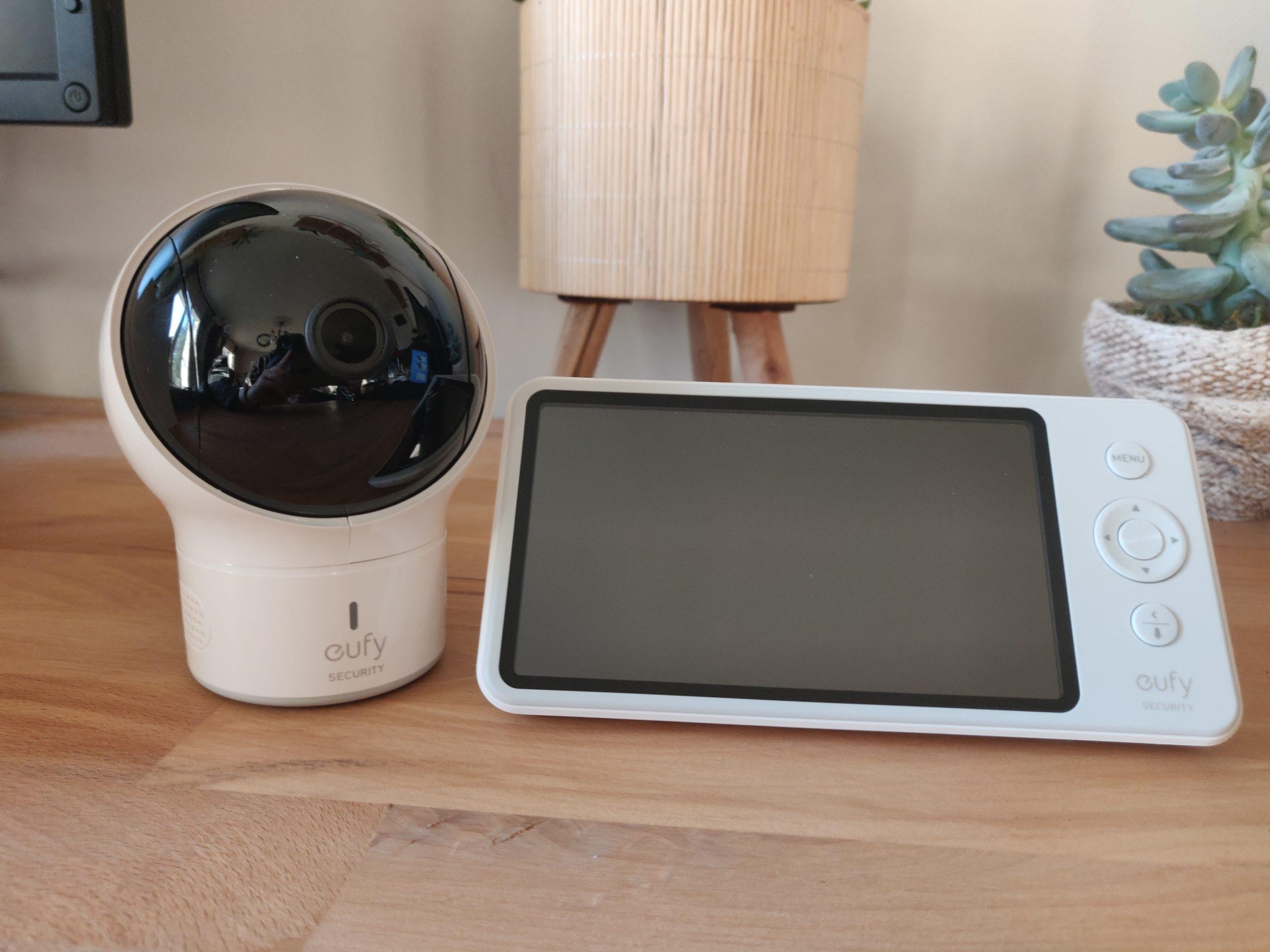 Eufy Baby Monitor Spaceview caméra et moniteur