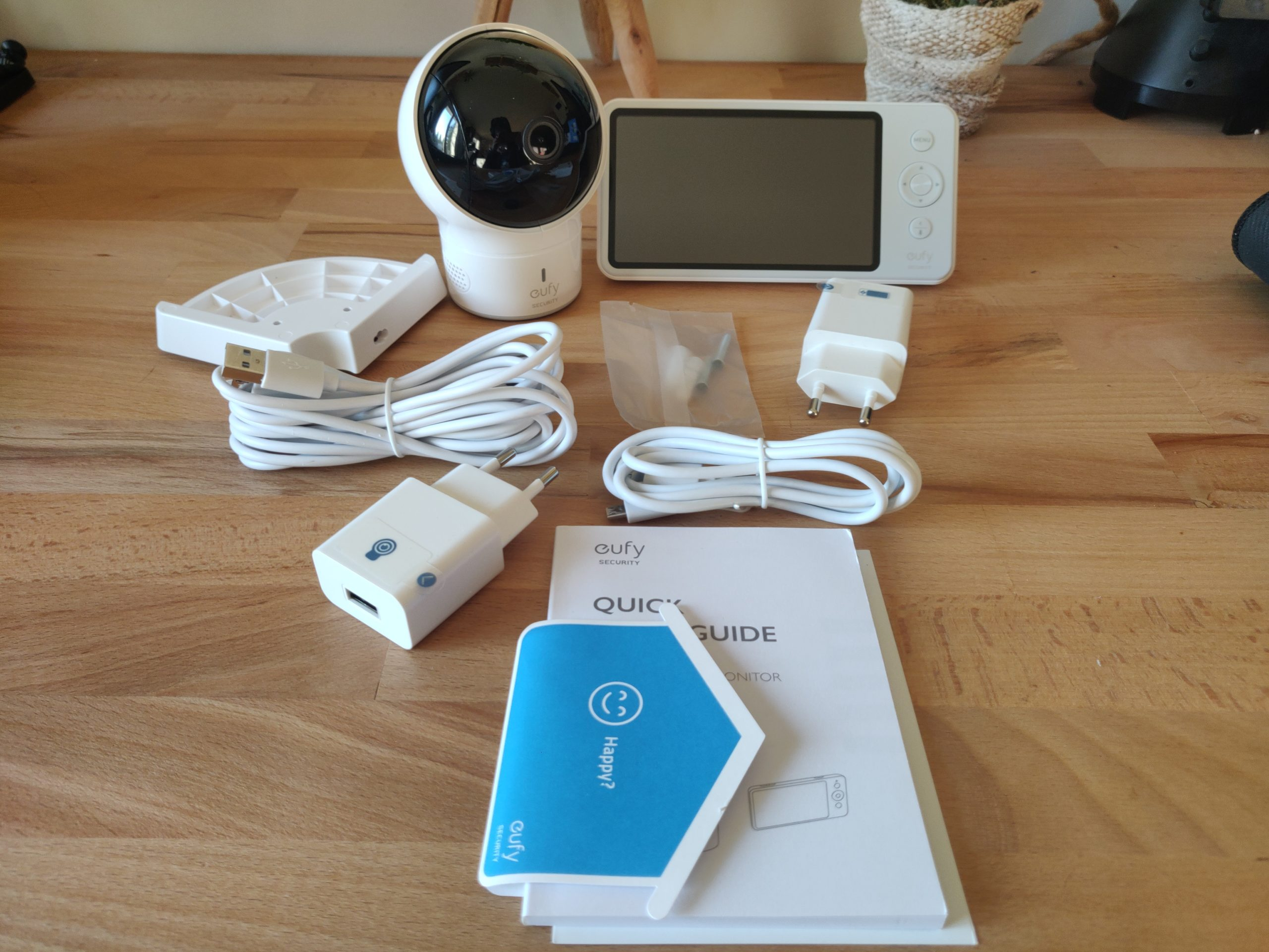 Eufy Baby Monitor Spaceview contenu