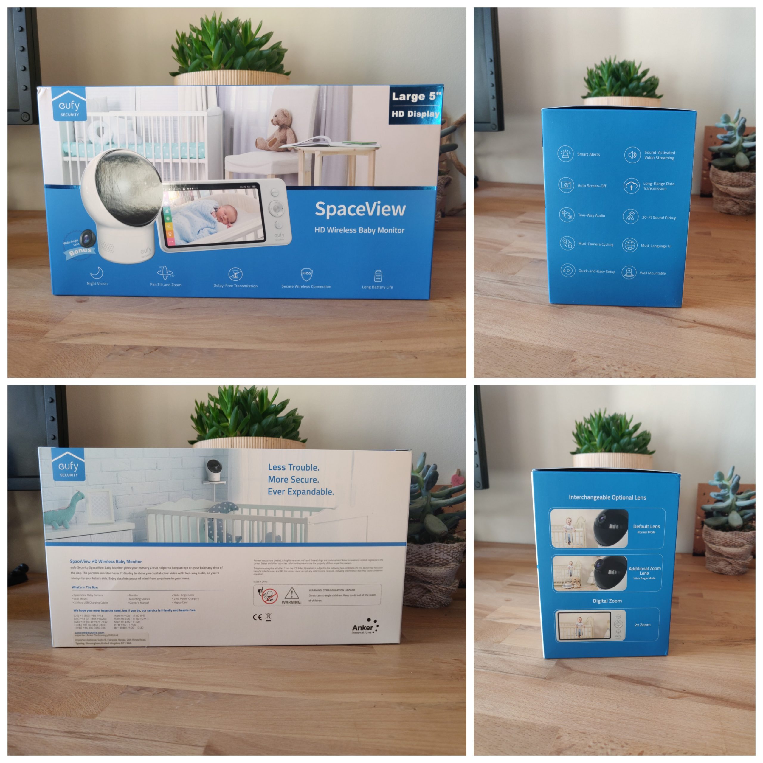 Eufy Baby Monitor Spaceview unboxing