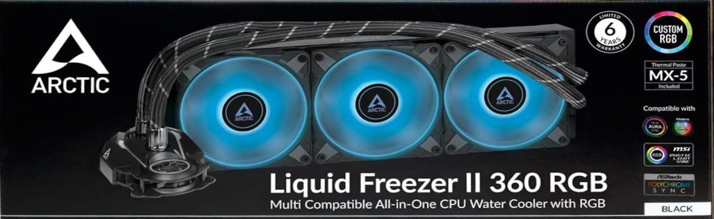 Cover Arctic Freezer II RGB