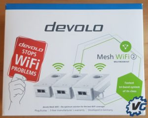 Test Devolo Mesh Wifi 2 - boîte avant