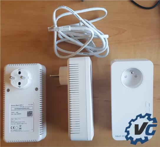 Test Devolo Mesh Wifi 2 - adaptateurs