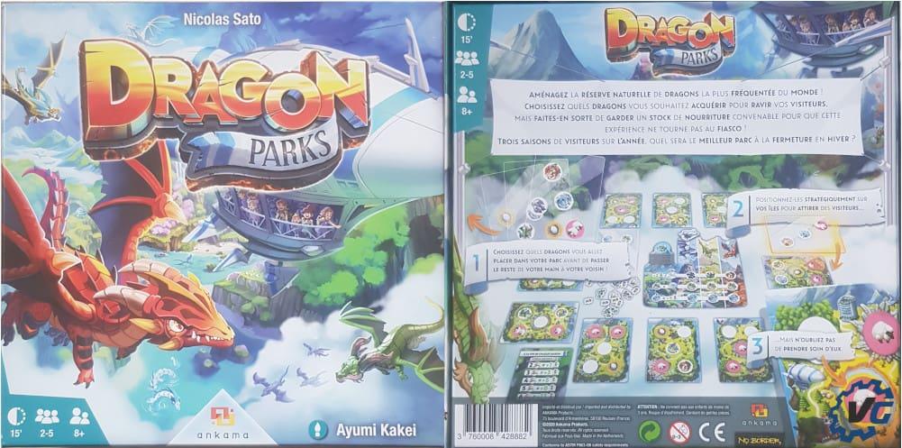test Dragon Parks - Boîte