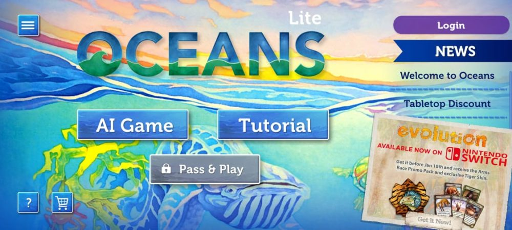 Océans portage