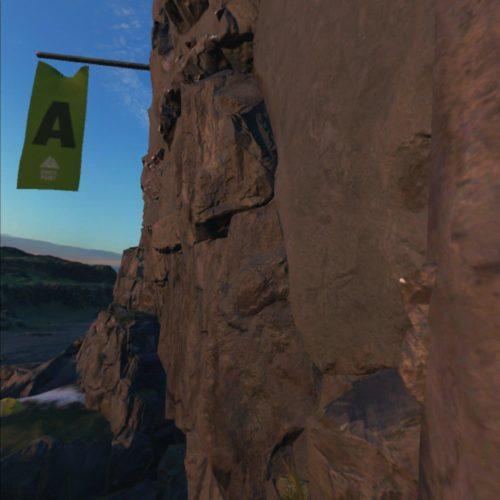 test The Climb 2 - balise