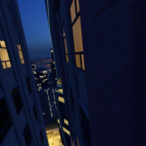 test The Climb 2 - ne pas regarder en bas !
