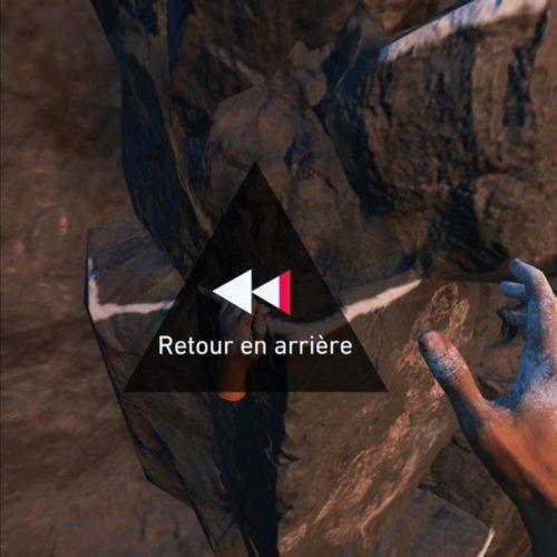test The Climb 2 - retour en arrière
