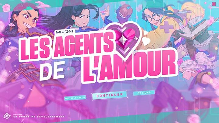 Les agents de l'amour