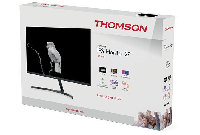Test écran Thomson M27FC12401 - boîte