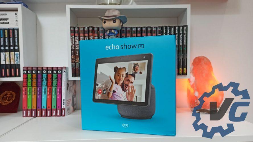 Amazon Echo Show 10 - Boîte