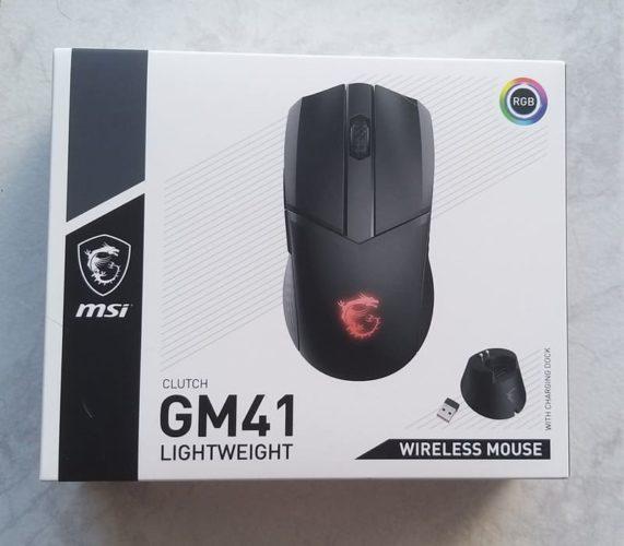 Souris MSI Clutch GM41 Lightweight Wireless