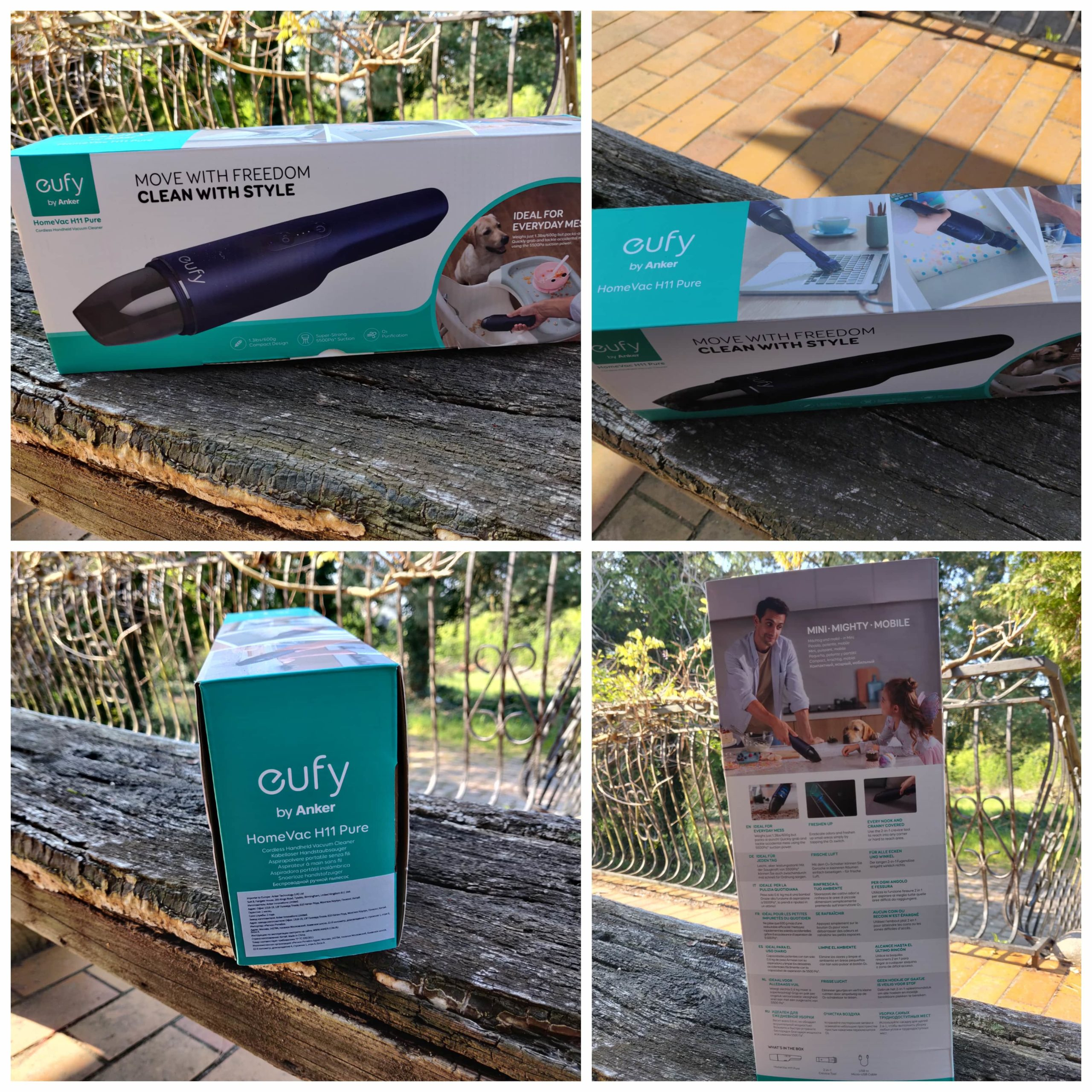 Eufy by Anker HomeVac H11 unboxing