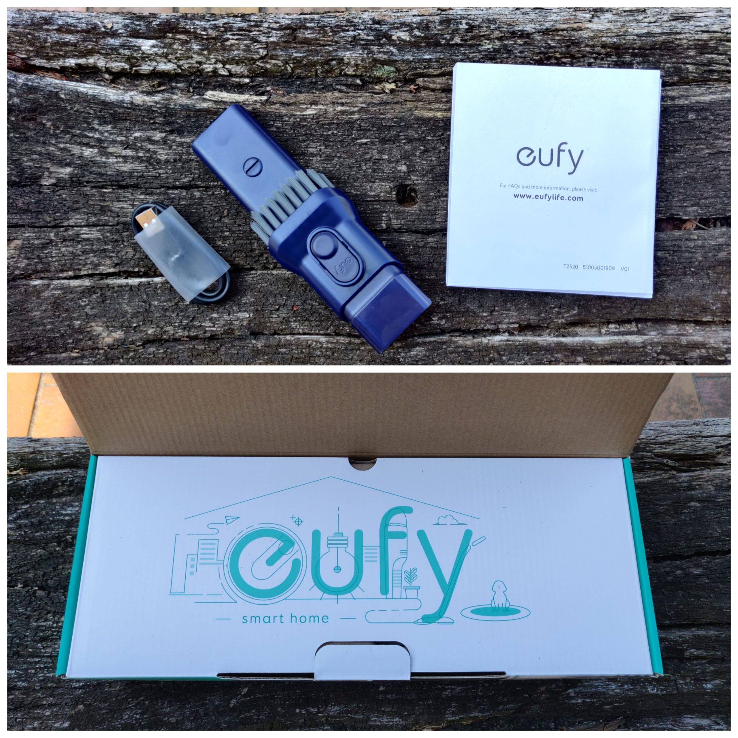 Eufy by Anker HomeVac H11 contenu