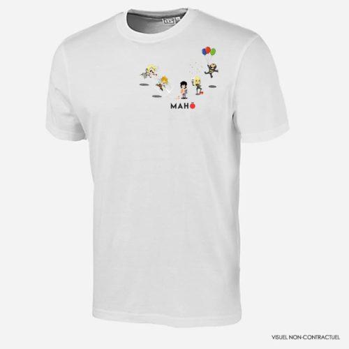 Maho fête ses 1 an avec un t-shirt