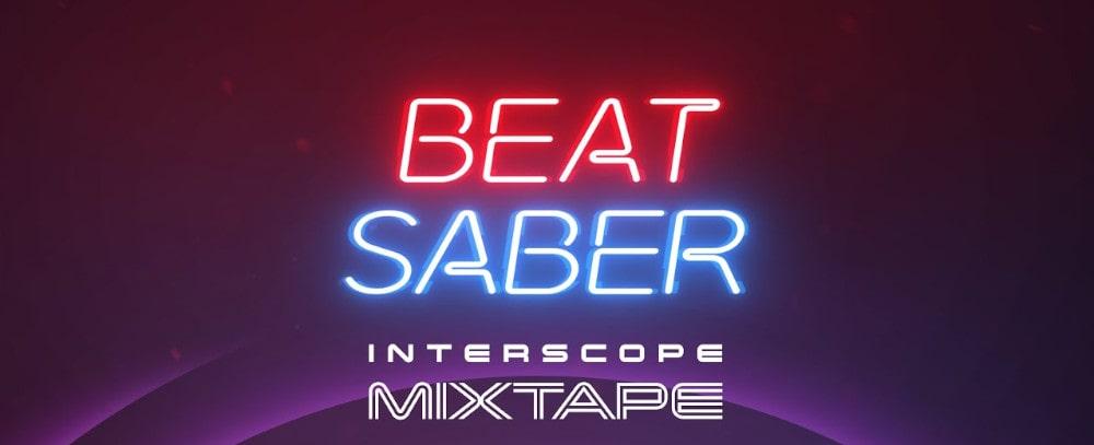 Beat Saber X Interscope « Mixtape Music Pack » - Image de fond