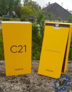 Test Realme C21 - Unboxing