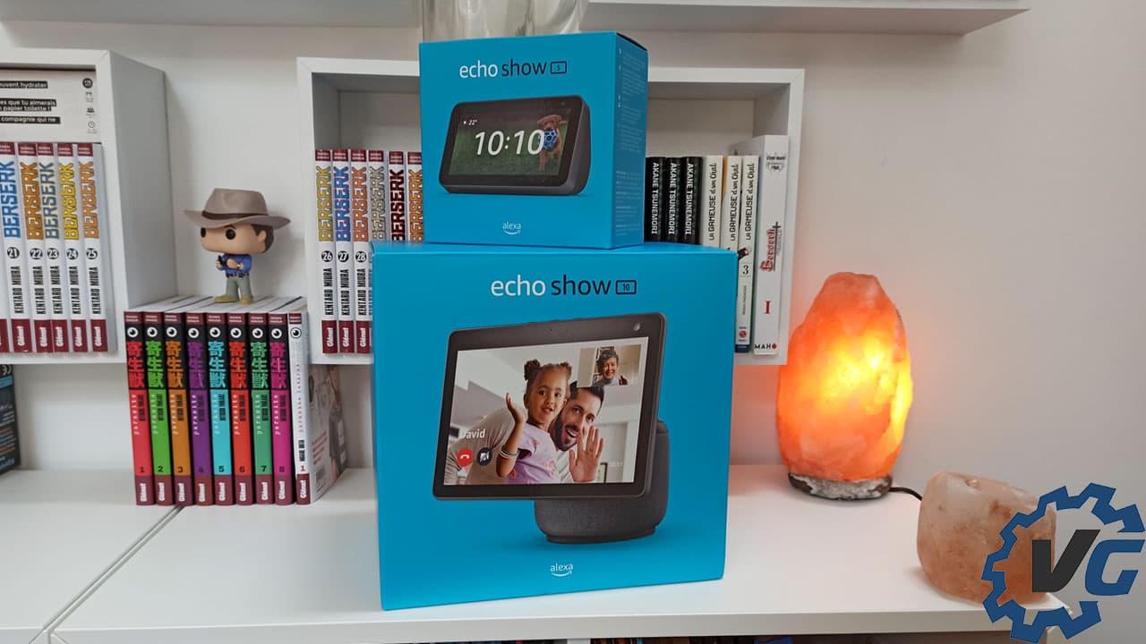Amazon Echo Show 5 + Echo Show 10