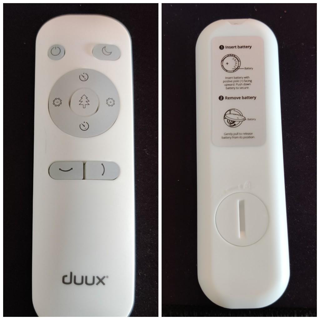 Télécommande Duux Whisper Flex
