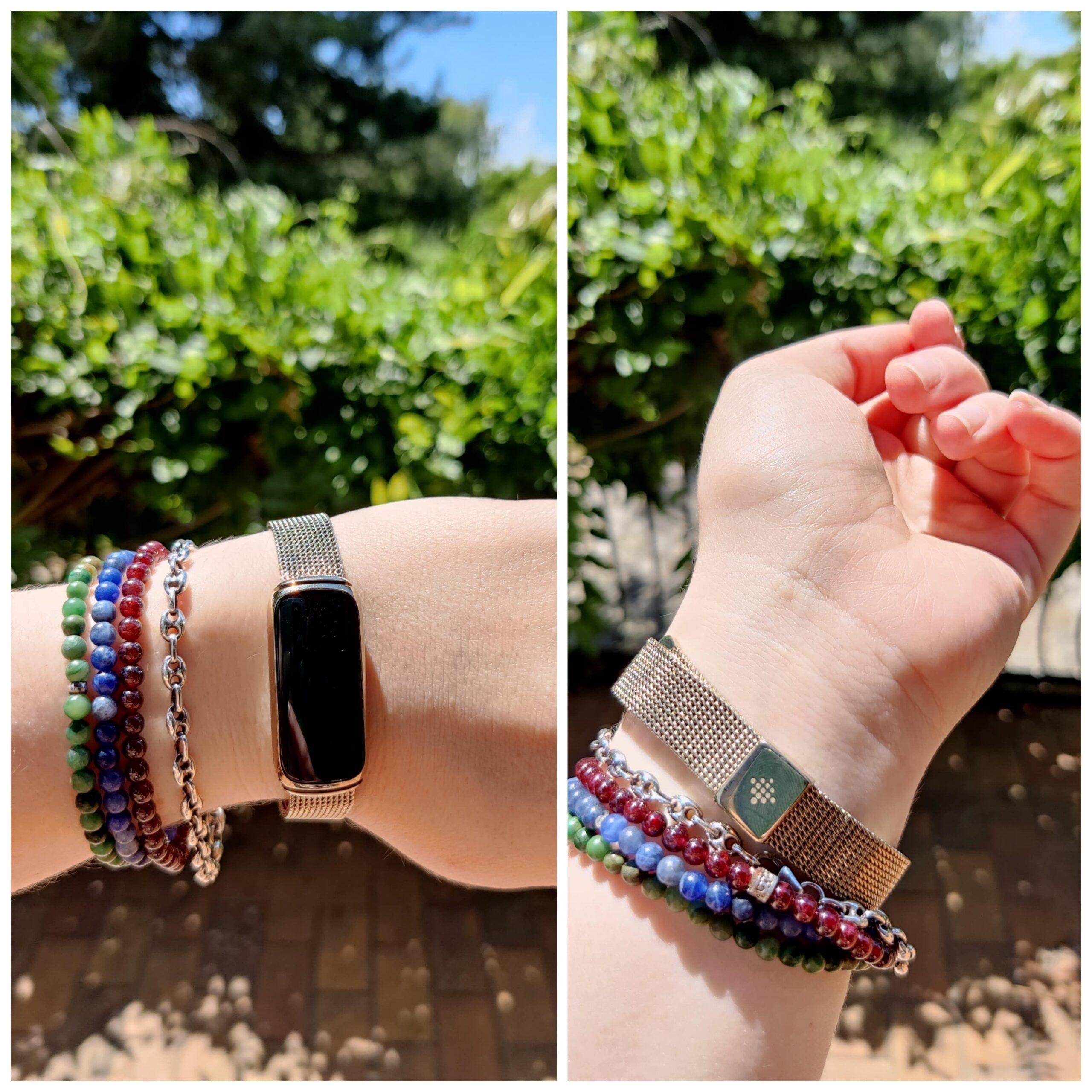 Fitbit Luxe bracelet maille