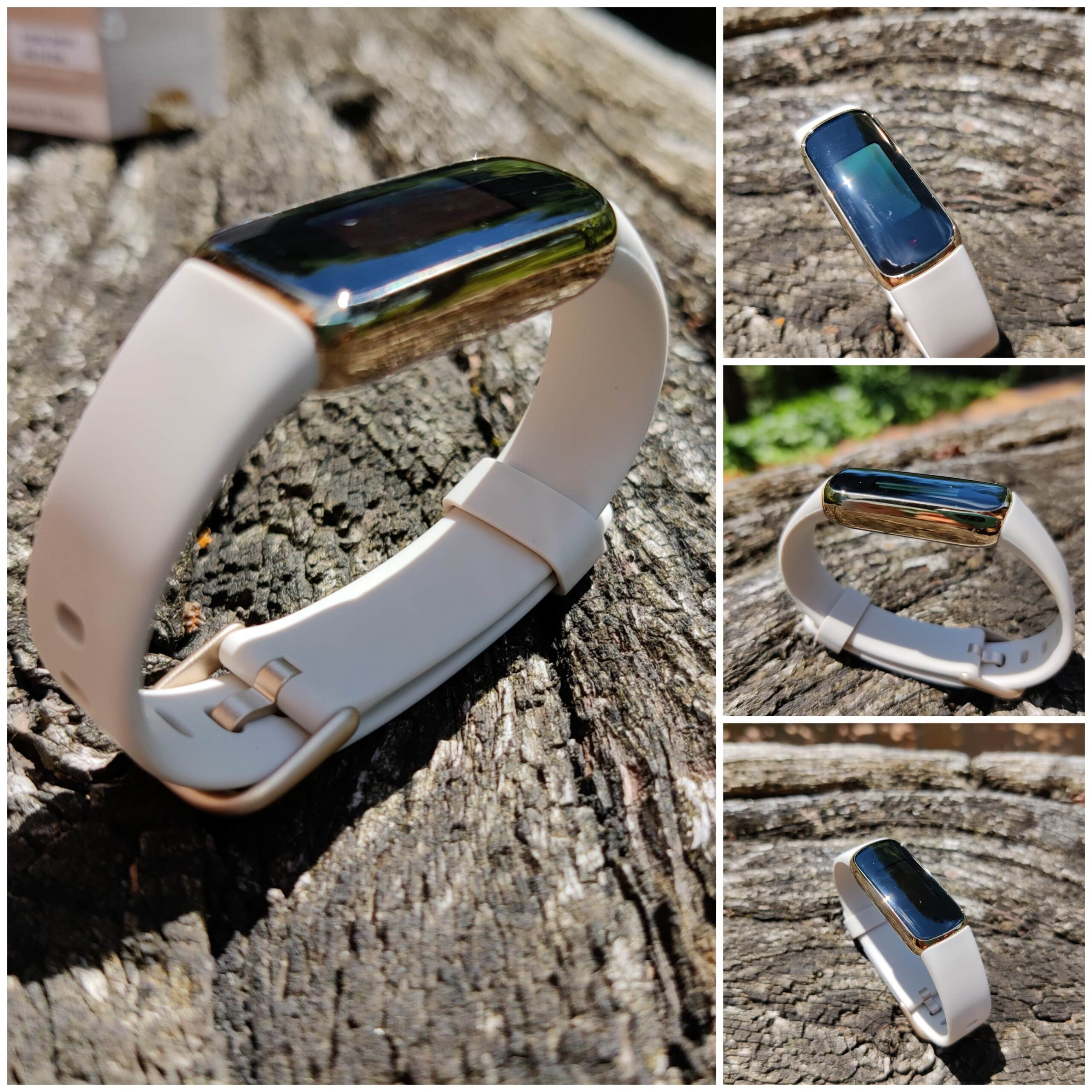 Fitbit Luxe différents angles