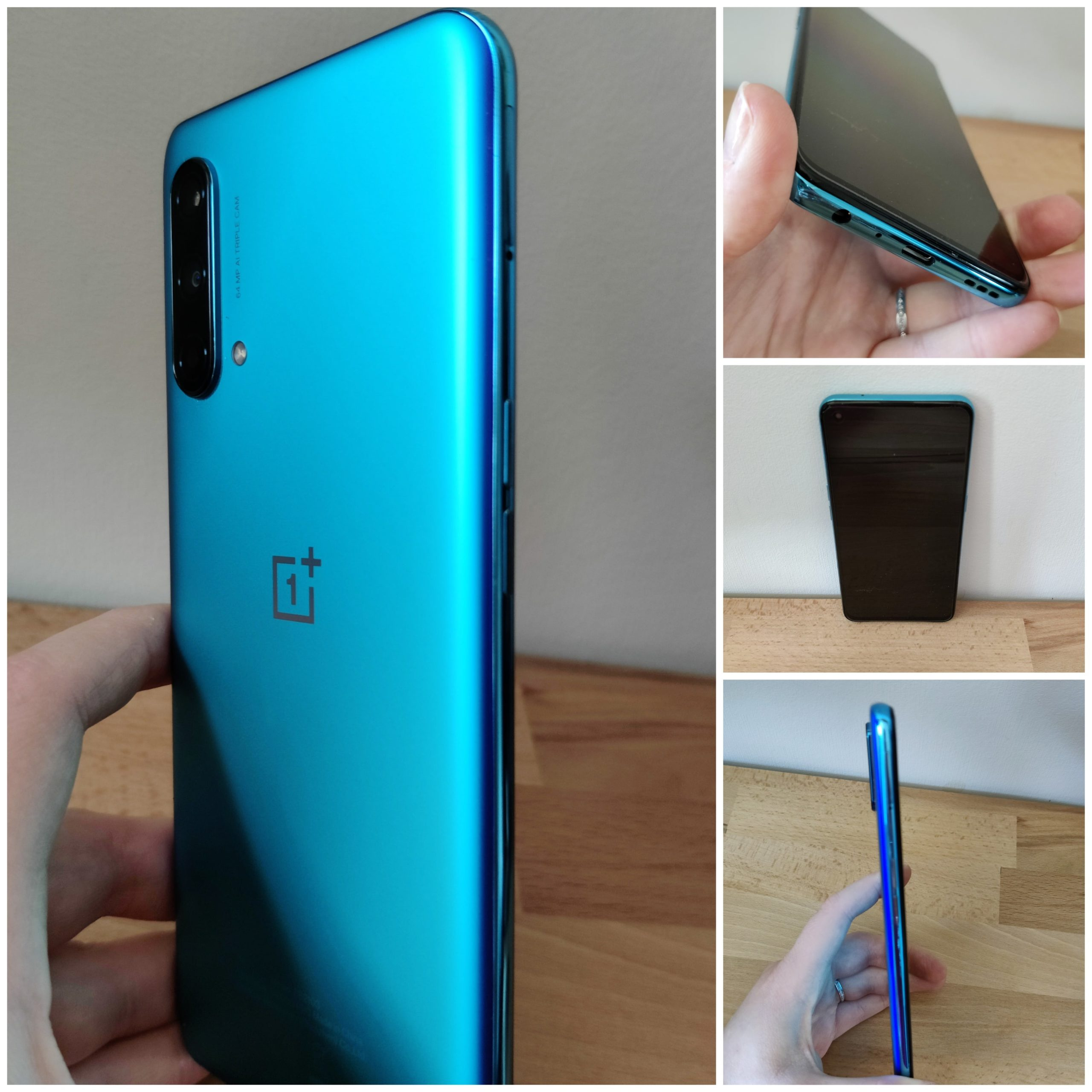 OnePlus Nord CE 5G différents angles