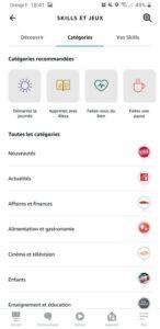 Application Amazon Alexa