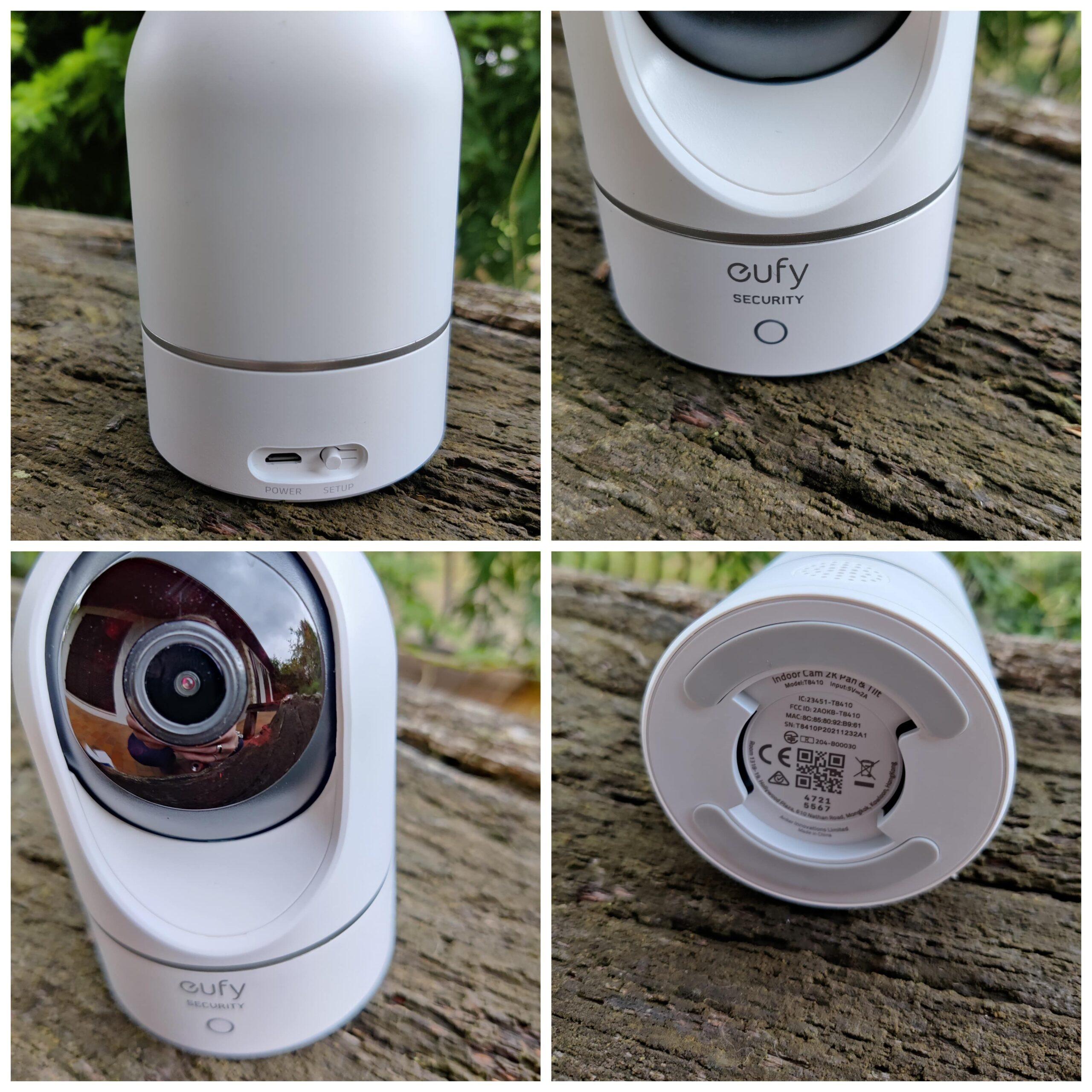 Eufy P24 caméra indoor différents angles