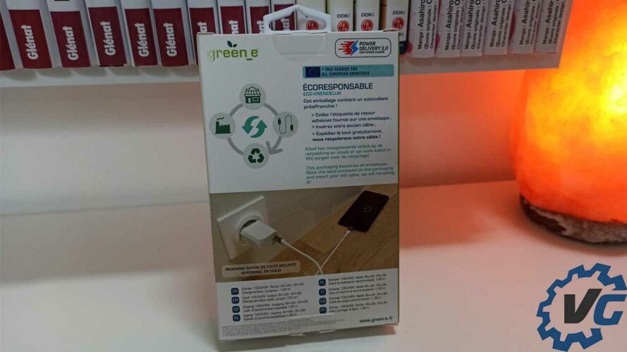 Kit de chargement écologique par green_e