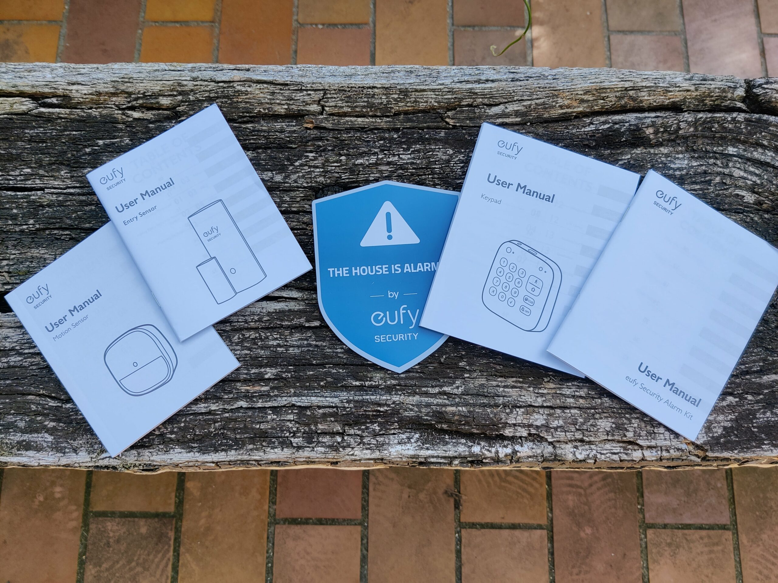 Eufy Security Kit alarme notices