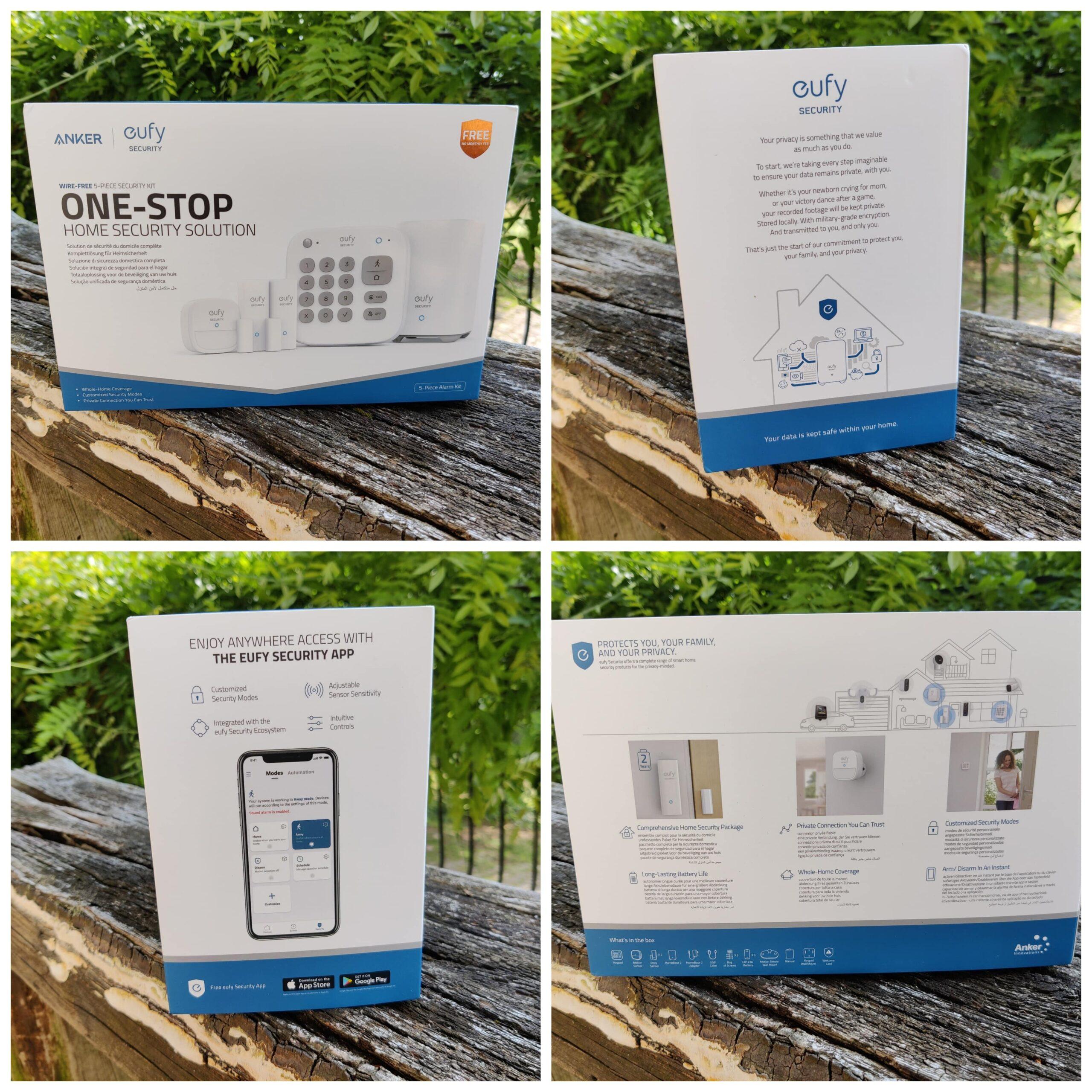 Eufy Security Kit alarme unboxing