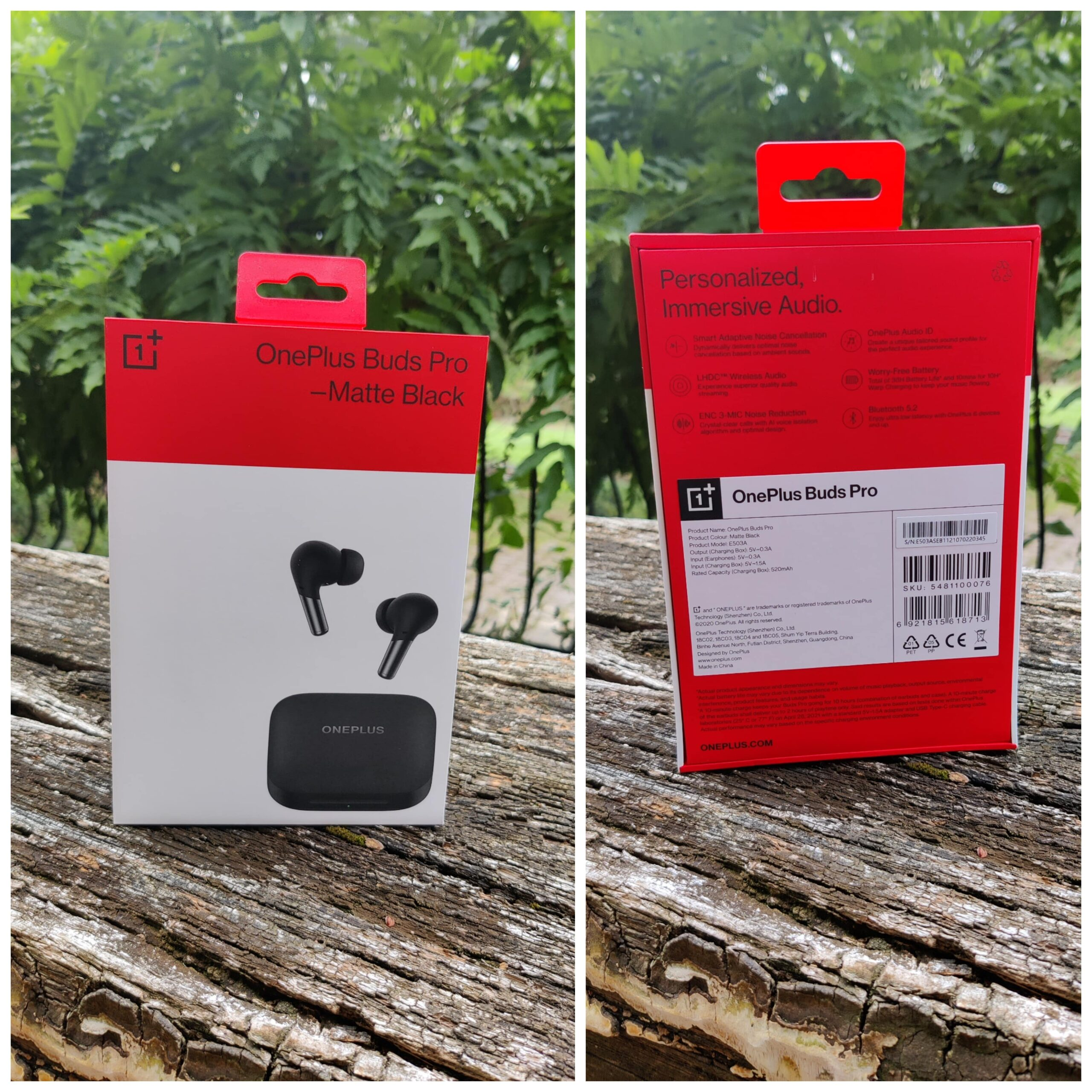 OnePlus Buds Pro boîte