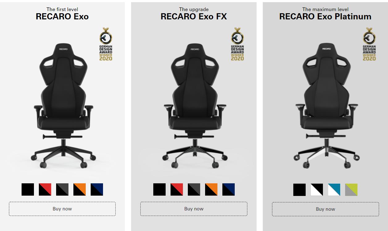 Recaro Gaming
