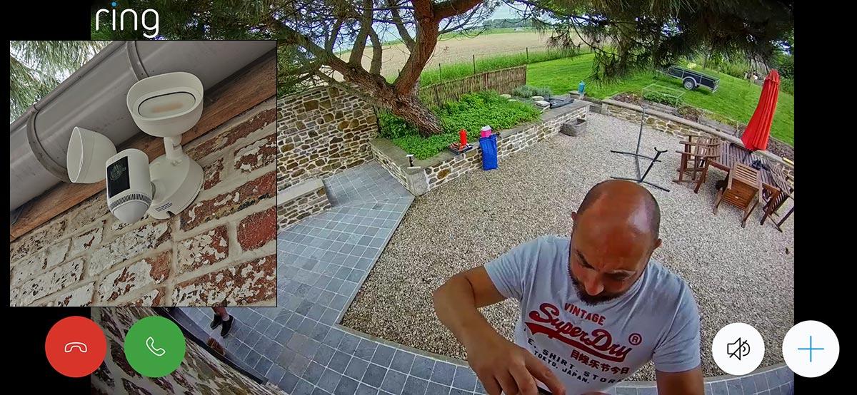 Capture Floodlight Cam Wired Pro