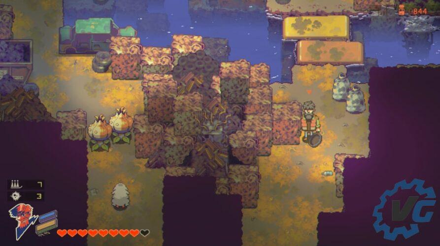Test Eastward - gameplay