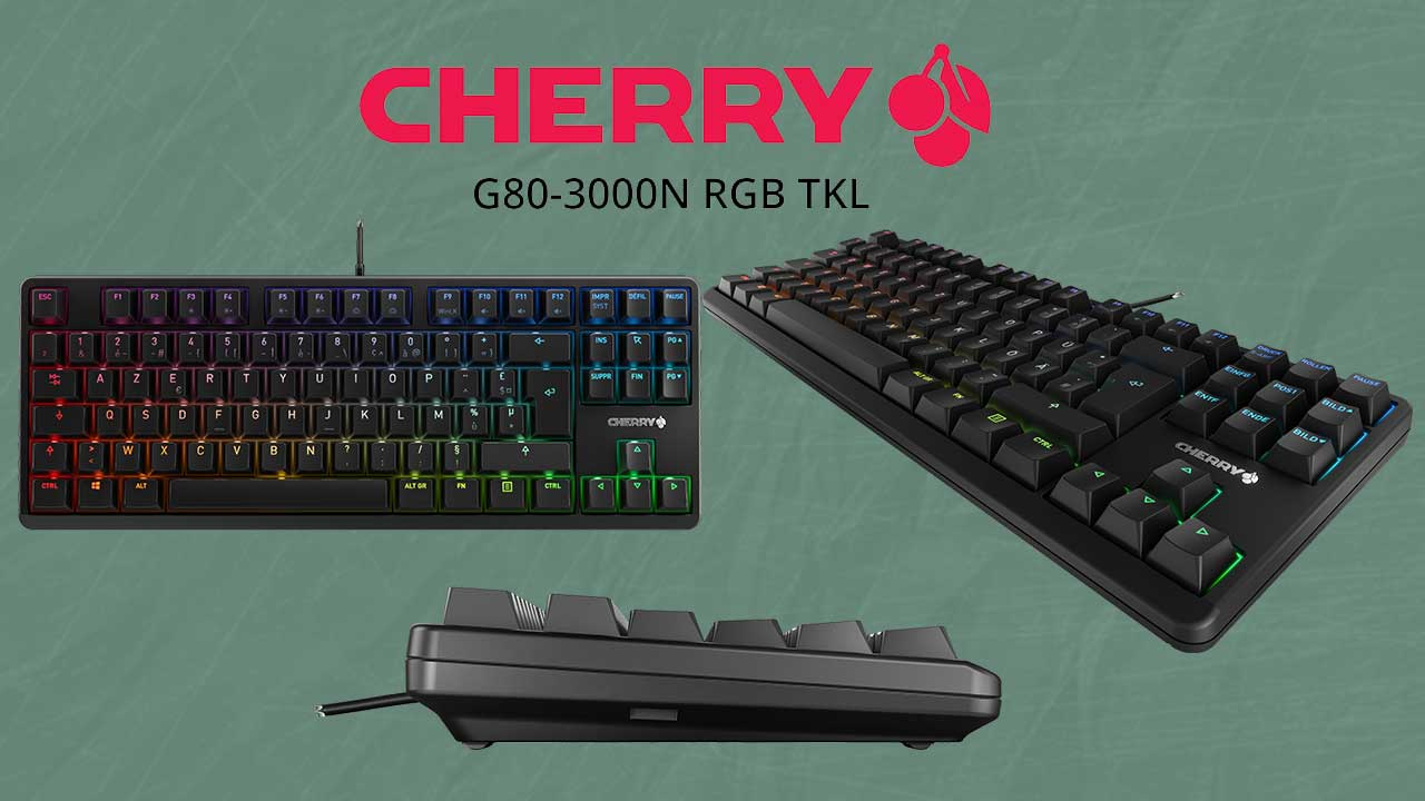 Cherry G80 3000N RGB TKL