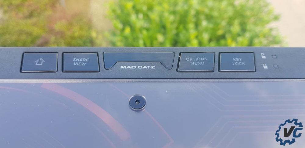 Test Ego Arcade Stick Madcatz - Boutons annexes 2
