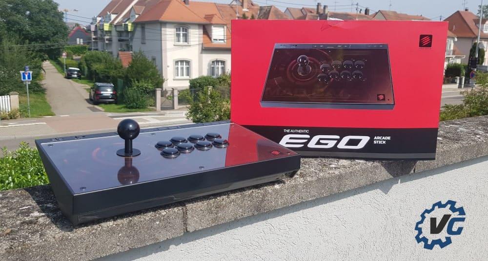 Test Ego Arcade Stick Madcatz - Une
