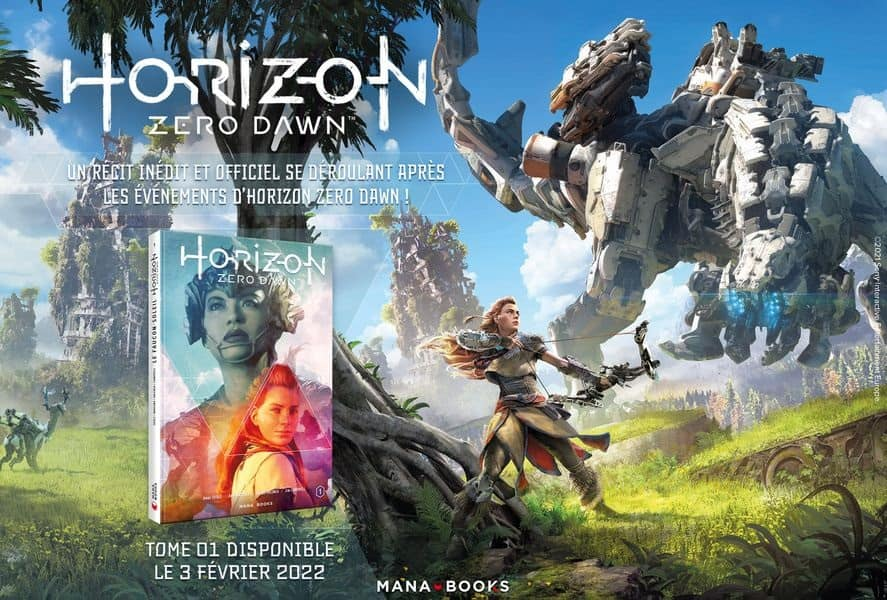 Horizon Zero Dawn - Comics Mana Books