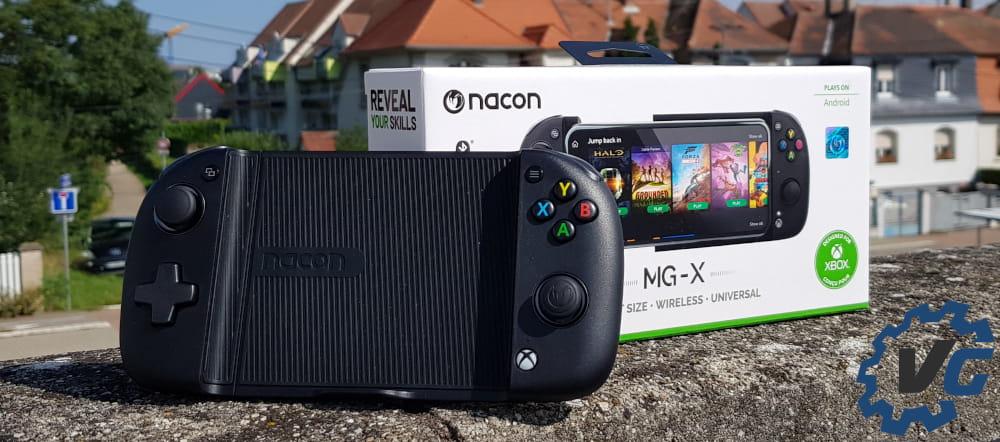 Test Nacon MG-X - Une