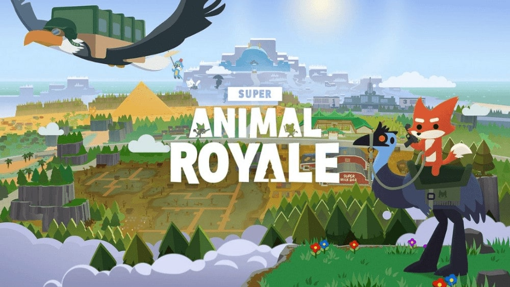 Test Super Animal Royale - Fond