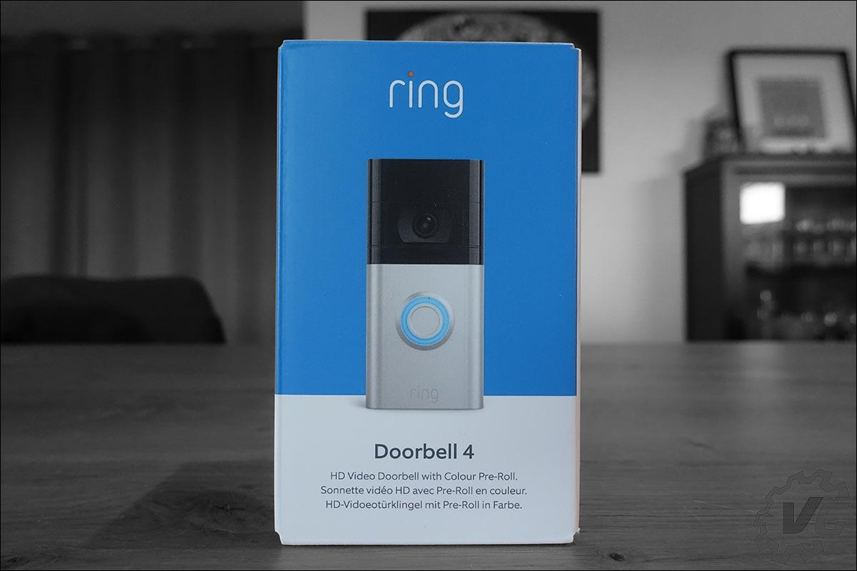 La sonnette connectée Ring Video Doorbell 4