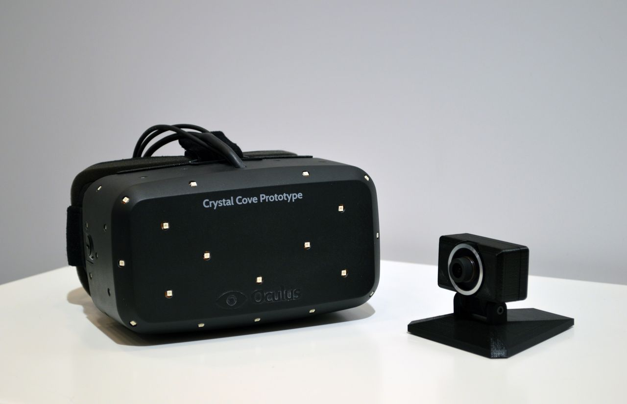 Oculus Rift DK2 ou Crystal Cove